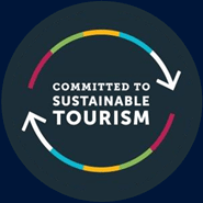 Committed to sustainable tourism logo