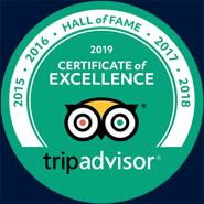 tripadvisor 2019 Certificate of Excellence logo