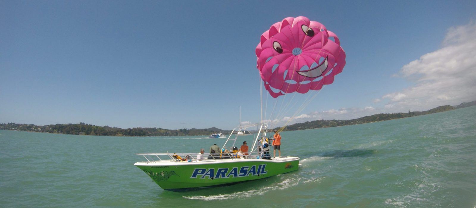 Single Parasail Flight - Slide